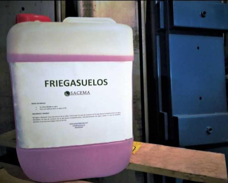 Limpiador industrial Friegasuelos